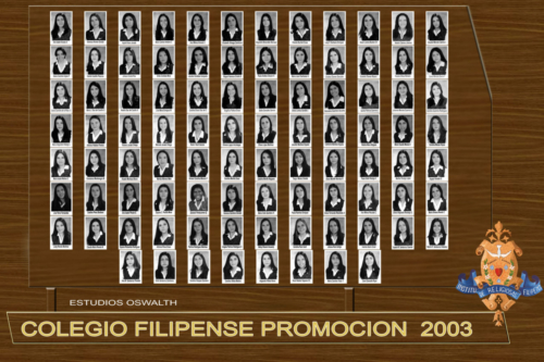 Filipense 2003
